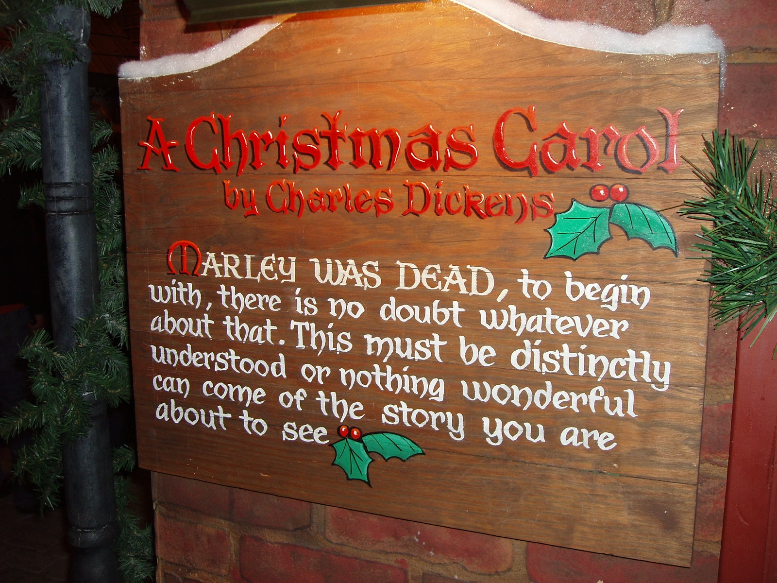 marley was dead to begin maura elizabeth cunningham even