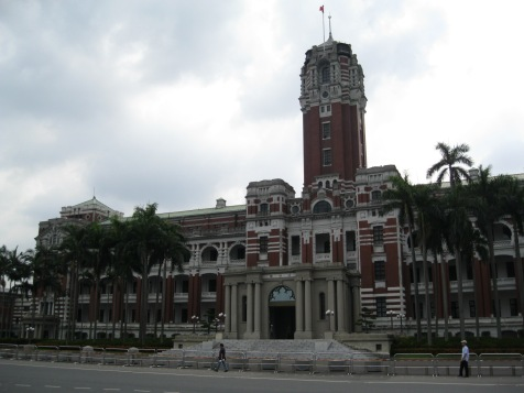 Presidential Office Building, built by the Japanese in the 1910s as the office of the Governor-General of Taiwan.