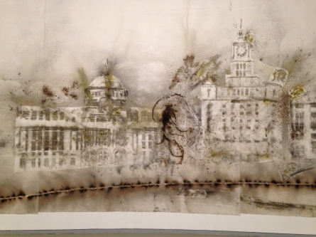 """Detail of """"The Bund Without Us"""""""