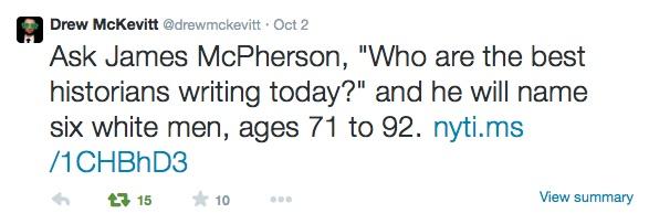 McKevitt tweet