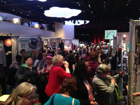 Inside the Vogue Knitting Live! Marketplace