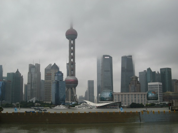 Prime walking/mulling/writing/coffee-drinking weather in Shanghai this week.