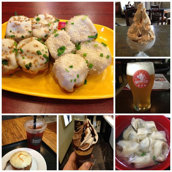 Shanghai food collage
