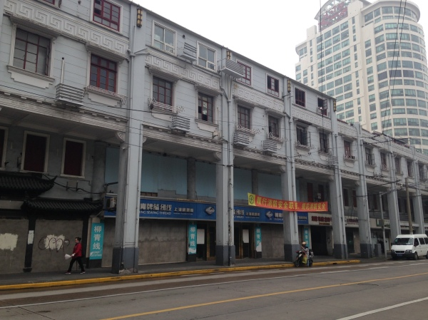 Jinling Road—likely the last time I'll see these buildings intact.