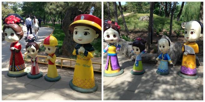Yuanmingyuan statues